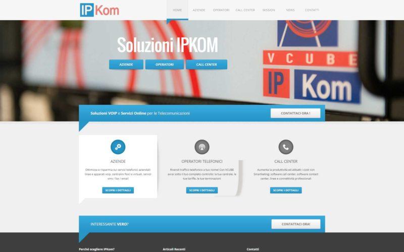 Sito realizzato per IPKom