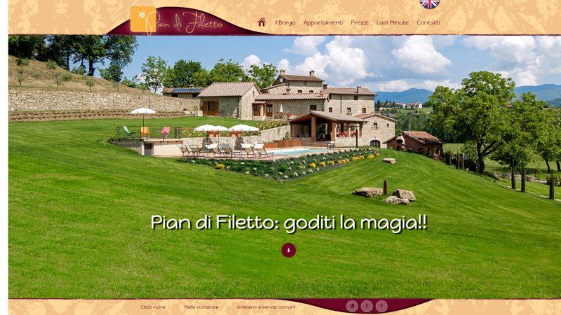 Sito realizzato per Pian Di Filetto Poppi