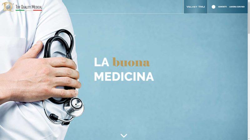 Sito realizzato per Top Quality Medical